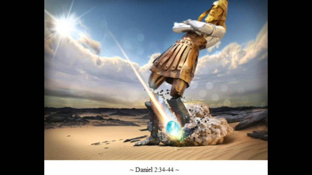 The statue from Nebuchadnezzars dream, Daniel chapter 2.