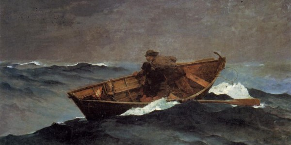 Lost on the Grand Banks, by Winslow Homer
