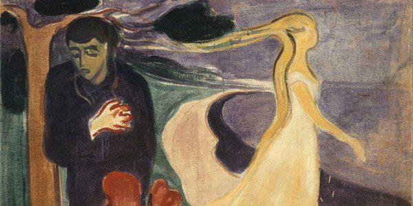 "Edvard Munch, ""Separation"""