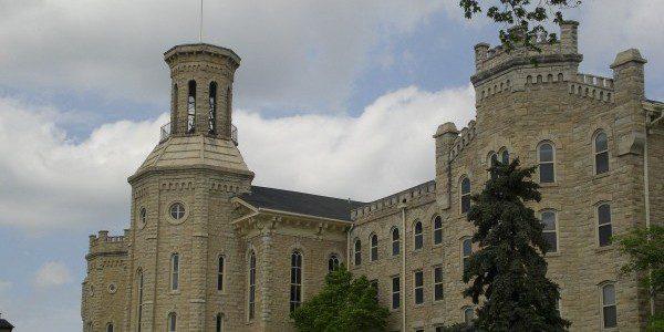Wheaton College's Blanchard Hall, via WikiCommons