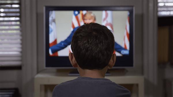 YouTube still, Clinton ad
