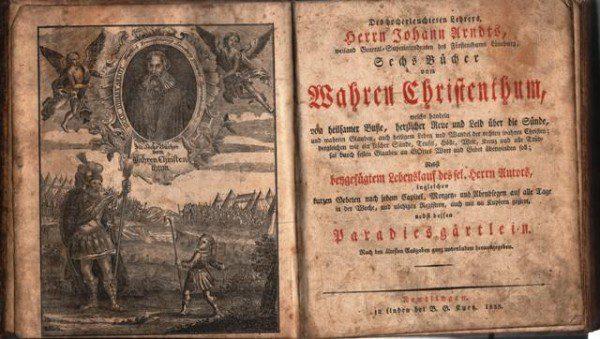 Johann Arndt's True Christianity