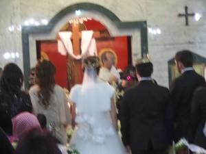 A Jordanian wedding in the Greek Catholic Cjurcj of St. Georges