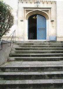 Steps_up_to_the_west_door_at_Windsor_Parish_Church_-_geograph.org.uk_-_1168717