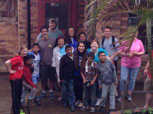 Dave Willis at Casa Shalom orphanage in Guatemala