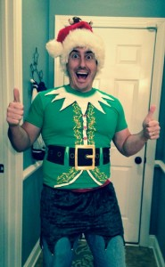 Dave Willis silly elf pic
