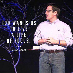Dave Willis speaking on focus preaching