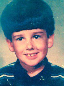 Dave Willis childhood school photo pic