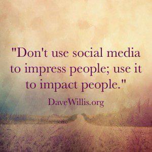 Dave Willis social media quote