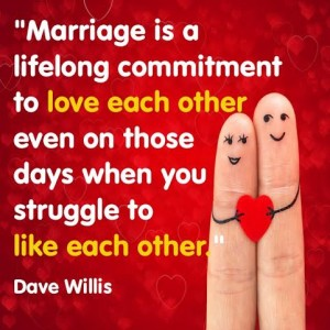 Dave Willis marriage quote quotes love like each other