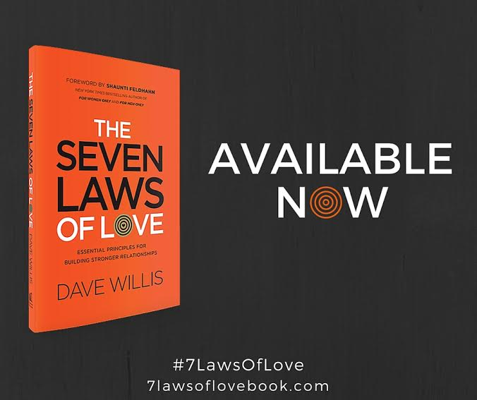 7 laws of love book #7LawsOfLove