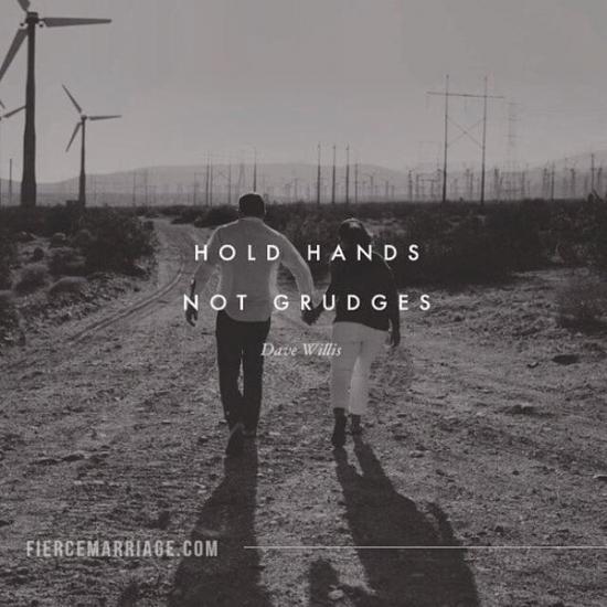 1.Let go of past grudges.