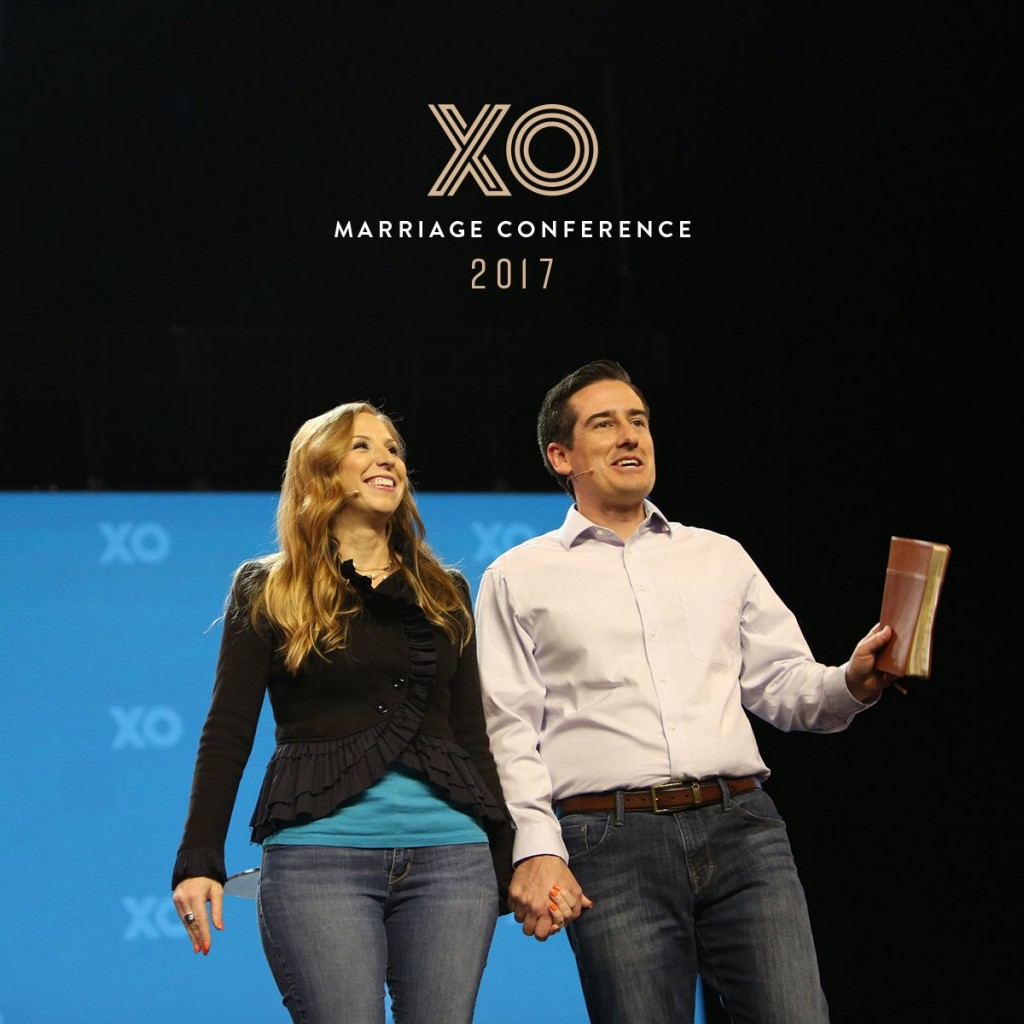 Dave and Ashley Willis speaking at XO Marriage Conference at Gateway Church in TX MarriageToday
