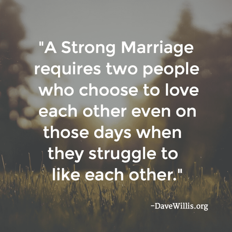 People That Love Each Other: 1. I Don't Talk Negatively About My Wife To Others Or