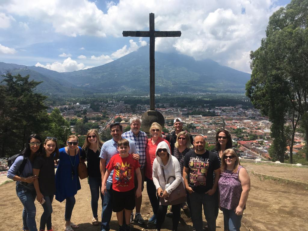 Dave and Ashley Willis with team from Stevens Creek Church Casa Shalom Orphanage Antigua Guatemala