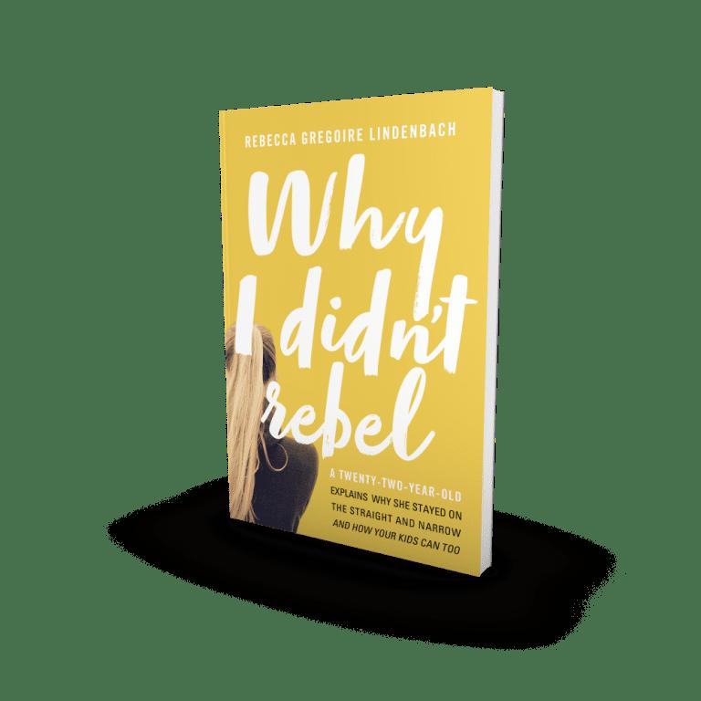 Why I Didn't Rebel book