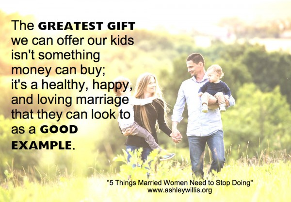 kids and marriage quote