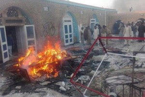 Attacked Ahmadi mosque in Chakwal