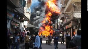 War Rages In Syria