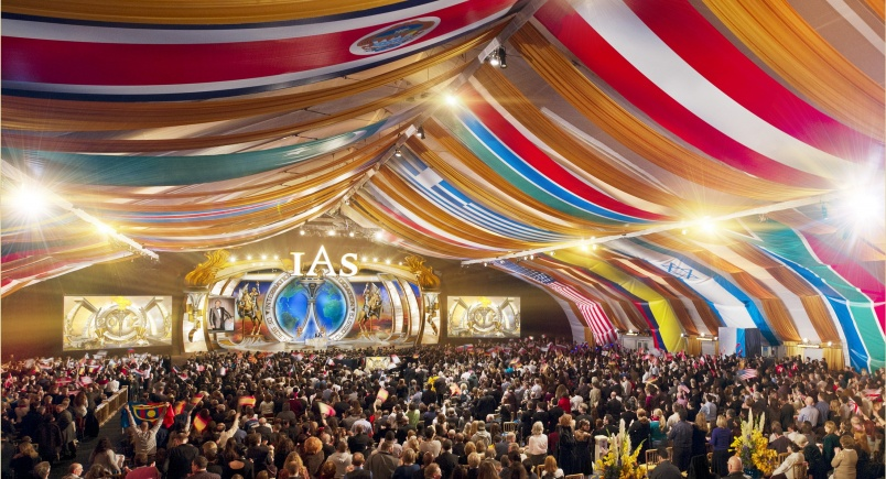 The 28th anniversary celebration of the International Association of Scientologists