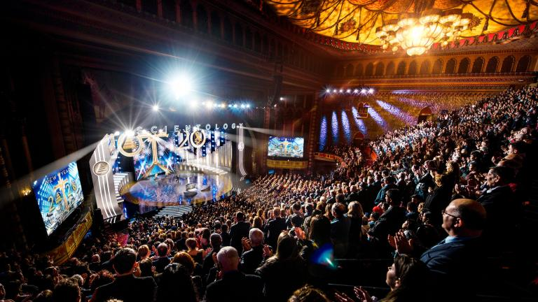Scientology New Year's celebration 2020 (Church of Scientology International)