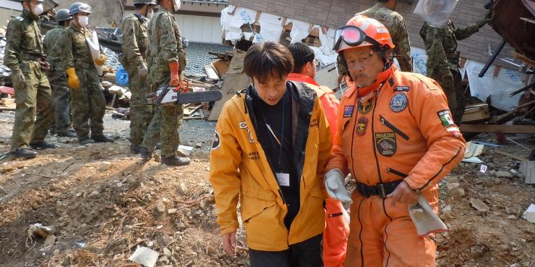 Hundreds of Scientology Volunteer Ministers responded to the 2011 Japan tsunami.