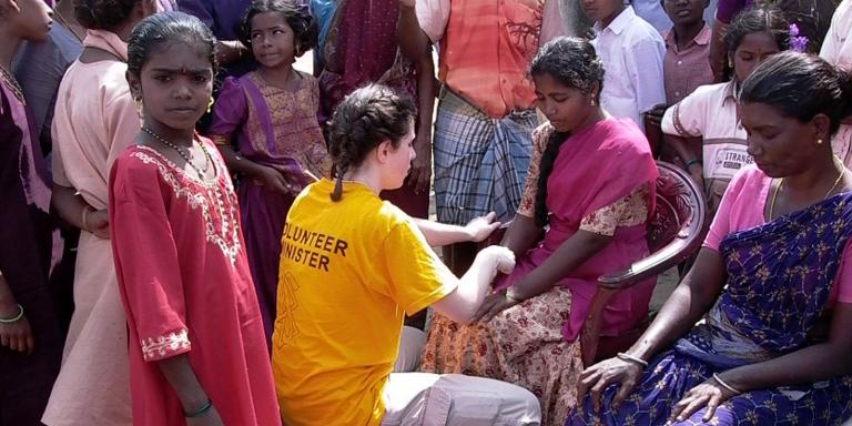 Scientology Volunteer Ministers responded to the South Asia tsunami