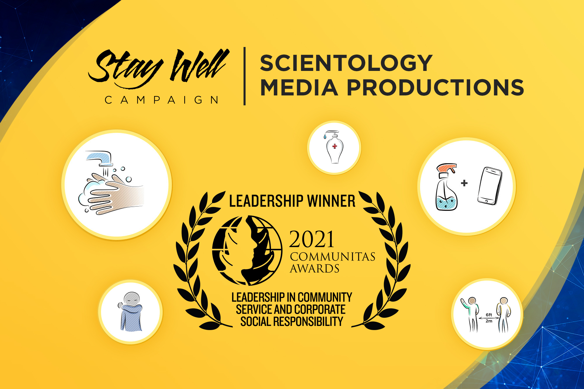 Scientology Media Productions honored with the Communitas Award