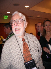 Theologian Harvey Cox at the 2009 Religion Newswriters conference. Photo by Barbara Newhall