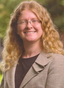 """Portrait photo of  Holly Ordway, former atheist author of """"Not God's Type."""""""