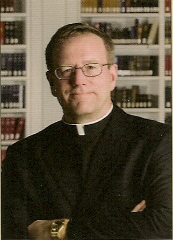 Portrait of the Rev. Robert Barron, newly appointed auxiliary bishop of Los Angeles. Catholics.
