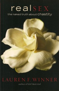 The cover of Lauren F. Winner's book, Real Sex.