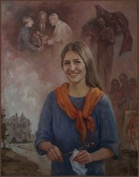 Portrait of Karen Laub-Novak, by Igor Babailov