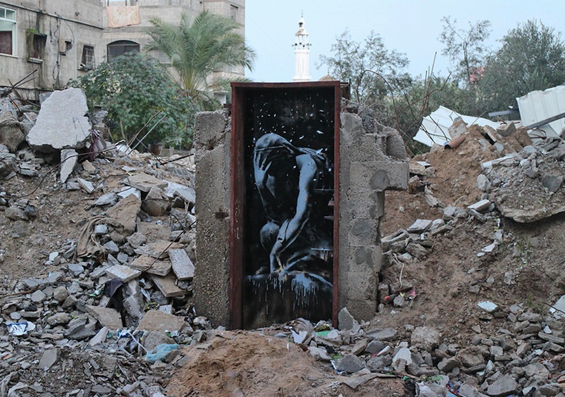 Street-Art-Pieces-by-Banksy-in-Gaza_3