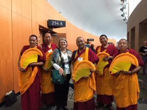 Members of the Buddhist Community © Kishgraphics