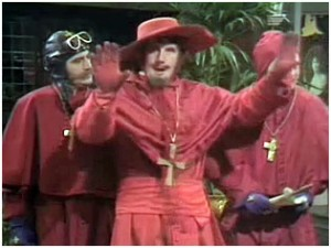 Actually, I DO expect the Spanish Inquisition. Nothing is more predictable.