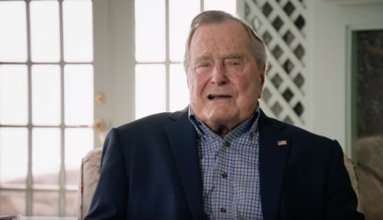 George H.W. Bush is proud of signing the ADA into law. And he should be.