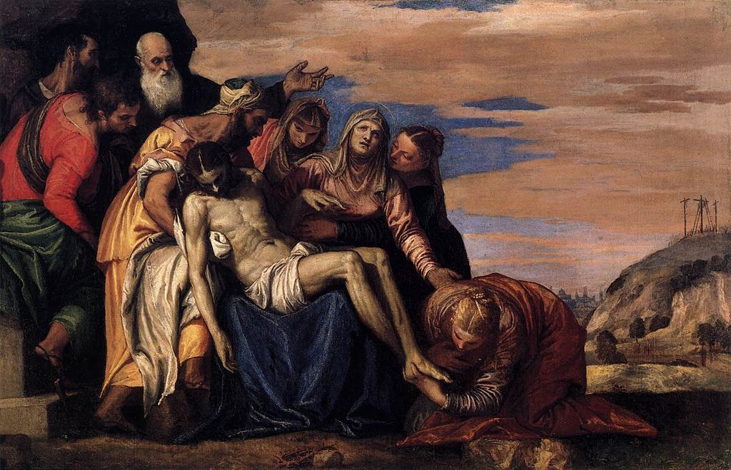 Lamentation Over the Dead Christ, by Paolo Veronese (1547)