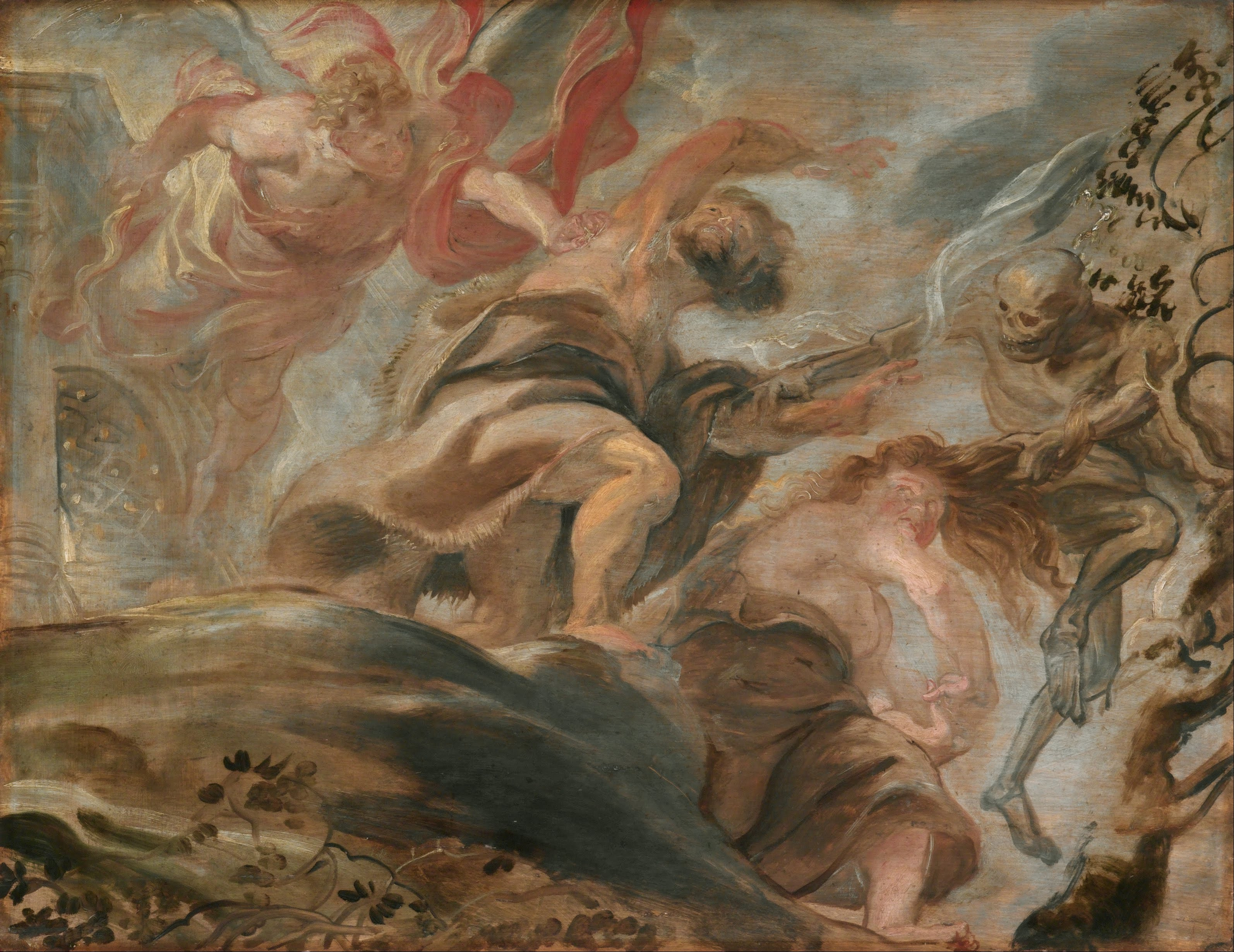Expulsion from the Garden of Eden, by Peter Paul Rubens (1620)