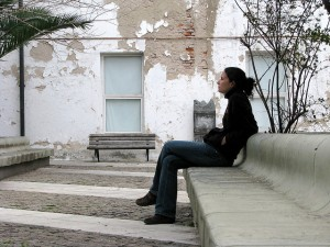 Sitting - Flickr Commons - Anthony Arrigo
