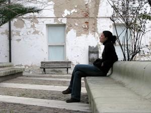 Sitting - Flickr Commons - Anthony Arrigo