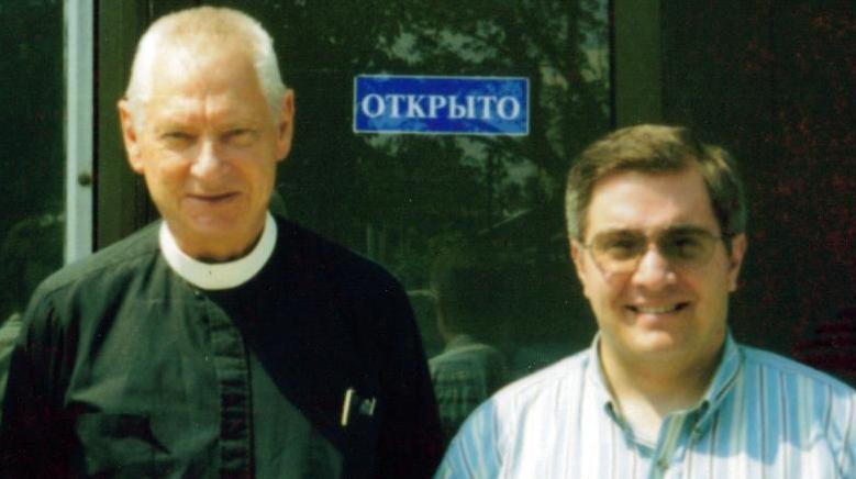 Rev. Webber with the sainted Rev. Dr. Kurt Marquart.