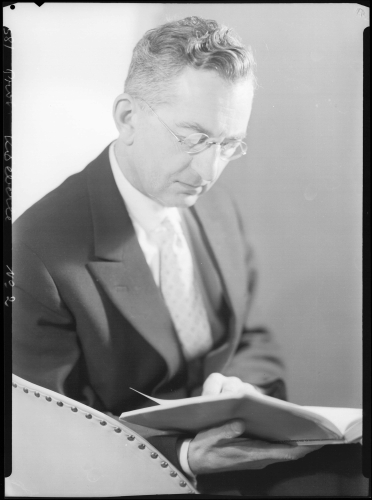 Adolf Köberle, Professor of Systematic Theology in Basel; b. 1898, d. 1990