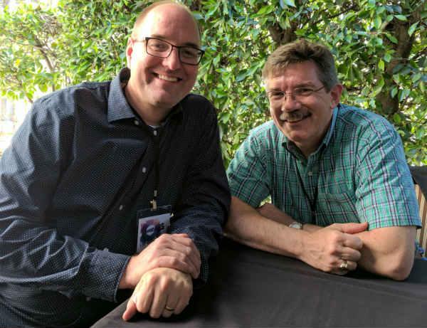 Tony Bancroft (left); Mark Henn (right).