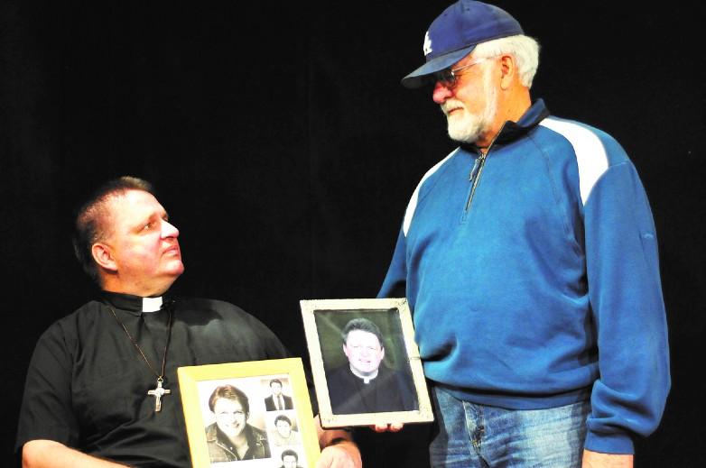 Father Stu Long and his father, Bill Long