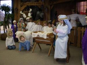 Children's Nativity Play, Wesley Fryer, Wikimedia Commons