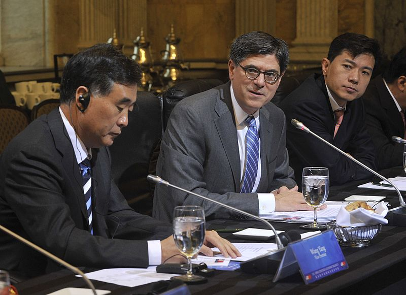 Meeting between US and Chinese Business Leaders, US Department of Treasury, Wikimedia Commons