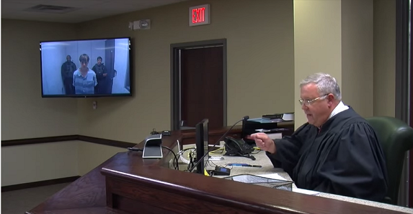 Judge lectures the audience, including  family members of the deceased, on the importance of realizing  that Dylann Storm Roof's family is victimized.