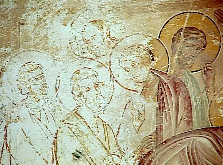 Thomas and Jesus, Eglise du Saints Sauveur. Image in the public domain, taken from Wikipedia.