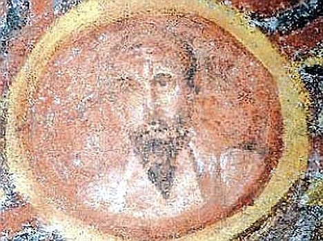 Most art of Paul and Silas is very bad, so here is a picture of Paul from the Catacomb of Thecla, late 4th century. Image in the public domain, taken from Wikipedia.